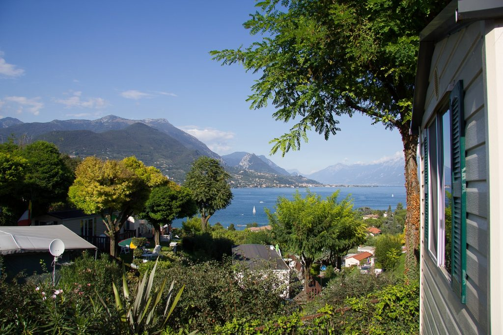 Camping Eden -  prachtig uitzicht bij bijna alle stacaravans.
