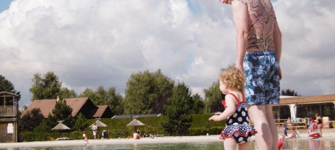 Curvacious test kamperen met baby / peuter op camping La Croix du Vieux Pont
