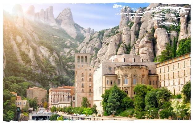 Montserrat - Costa Dorada, Spanje